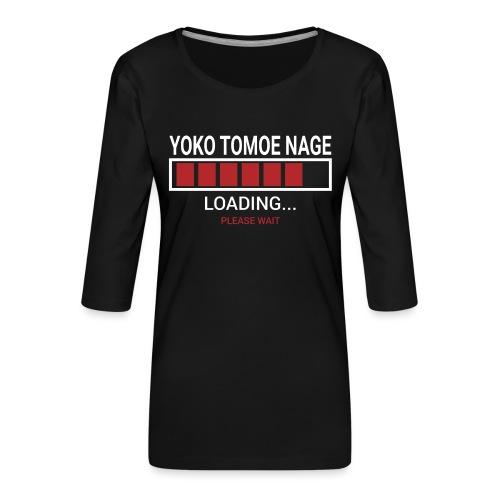 Yoko Tomoe Nage loading... pleas wait - Koszulka damska Premium z rękawem 3/4