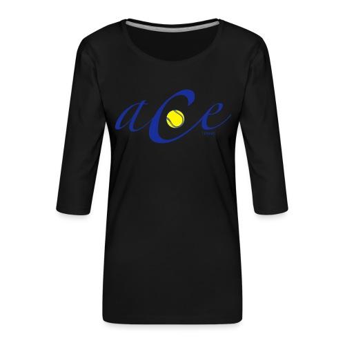 ace - T-shirt Premium manches 3/4 Femme