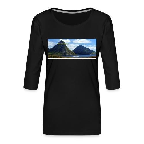 believe in yourself - Women's Premium 3/4-Sleeve T-Shirt