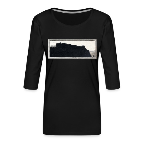 back page image - Women's Premium 3/4-Sleeve T-Shirt