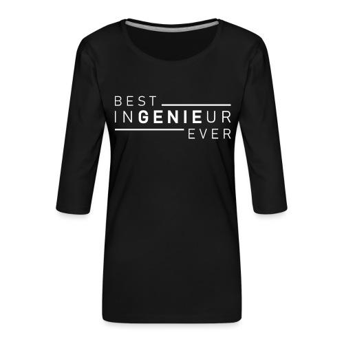 Ingenieur Genie Maschinenbau Shirt Geschenk - Frauen Premium 3/4-Arm Shirt
