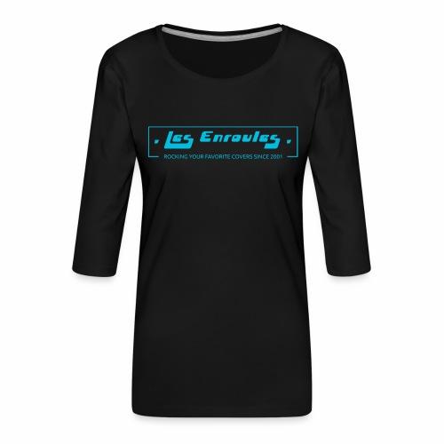 Rocking since 2001 - Blue - T-shirt Premium manches 3/4 Femme