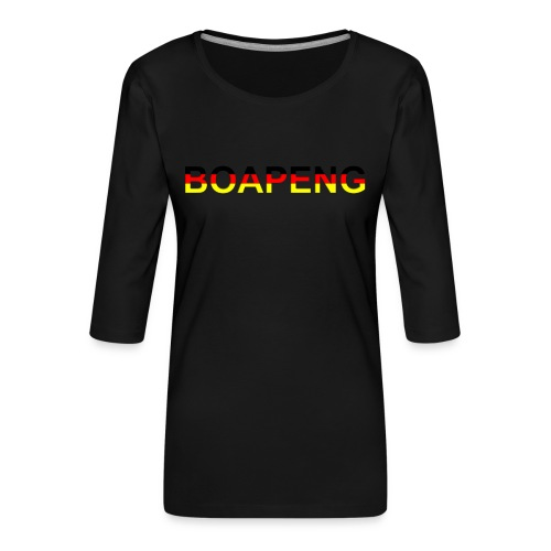 Boapeng - Frauen Premium 3/4-Arm Shirt