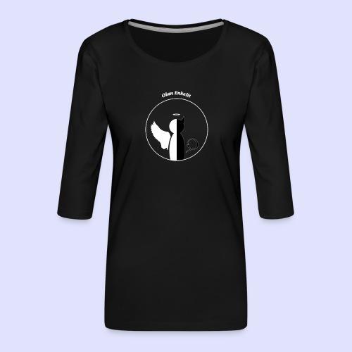 olanenkeli - Naisten premium 3/4-hihainen paita