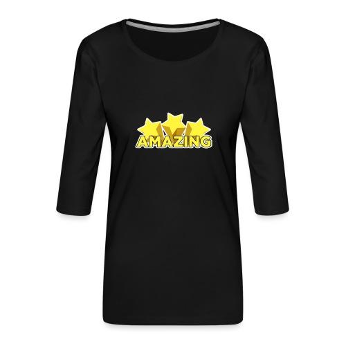 Amazing - Women's Premium 3/4-Sleeve T-Shirt