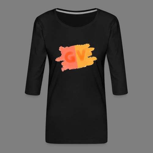 GekkeVincent - Vrouwen premium shirt 3/4-mouw