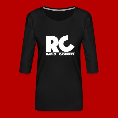 Radio CASTriert 2017/2018 - Frauen Premium 3/4-Arm Shirt