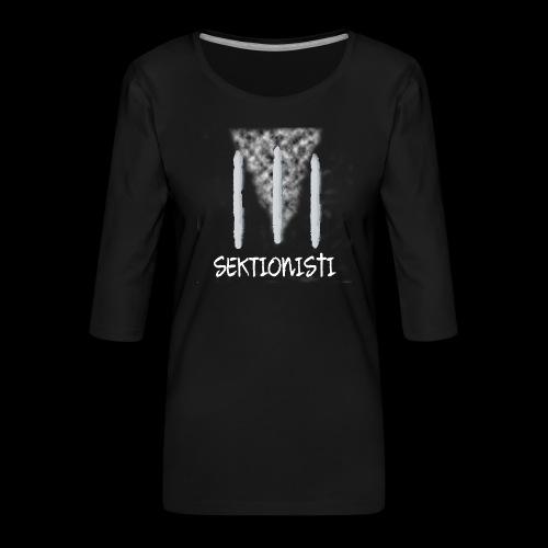 sektionisti 1 - Naisten premium 3/4-hihainen paita