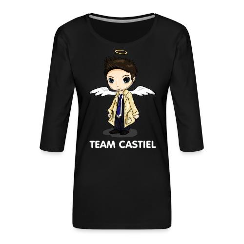 Team Castiel (dark) - Women's Premium 3/4-Sleeve T-Shirt