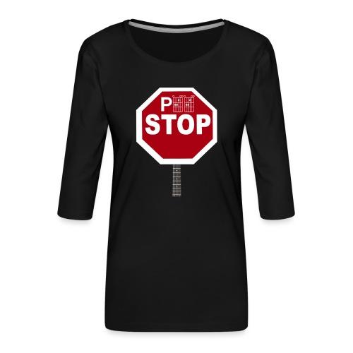Pee Stop for Concert Goers! - Women's Premium 3/4-Sleeve T-Shirt