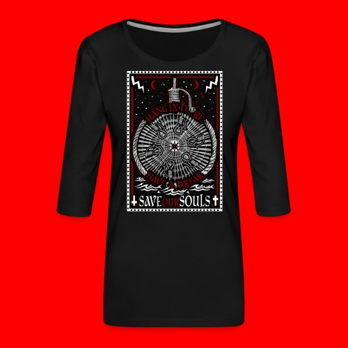 SaveOurSouls - Women's Premium 3/4-Sleeve T-Shirt