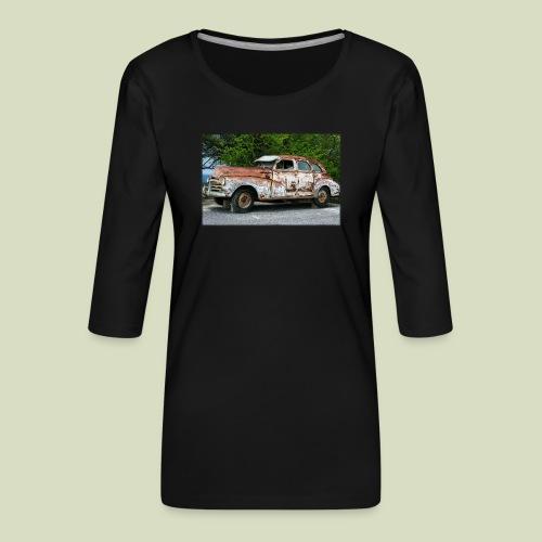 RustyCar - Naisten premium 3/4-hihainen paita