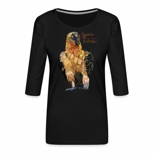 Gypaetus barbatus - Women's Premium 3/4-Sleeve T-Shirt