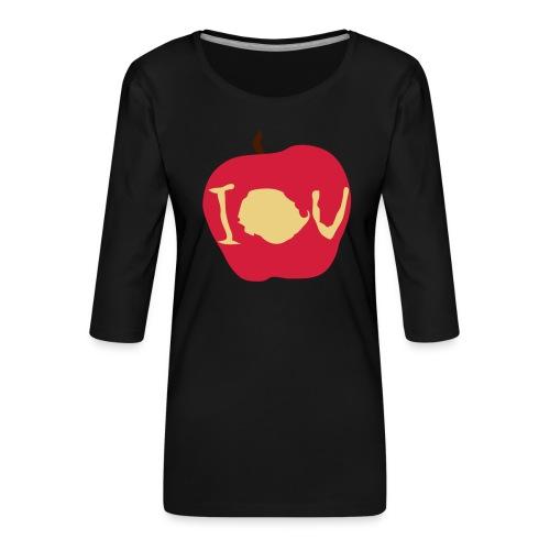 IOU (Sherlock) - Women's Premium 3/4-Sleeve T-Shirt