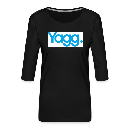 yagglogorvb - T-shirt Premium manches 3/4 Femme