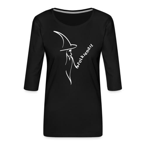 Tolkiendil & Magicien - T-shirt Premium manches 3/4 Femme