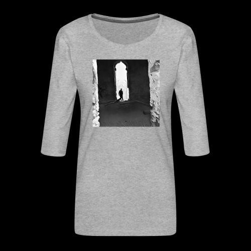 Misted Afterthought - Women's Premium 3/4-Sleeve T-Shirt