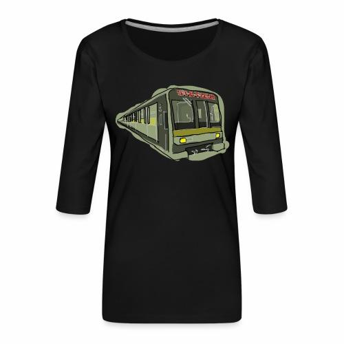 Urban convoy - Maglietta da donna premium con manica a 3/4