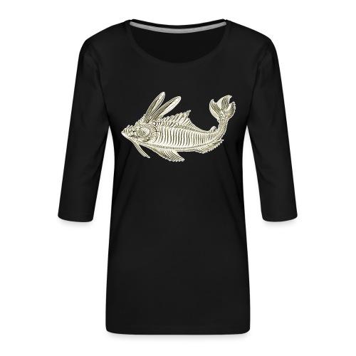 leprargolone - Maglietta da donna premium con manica a 3/4