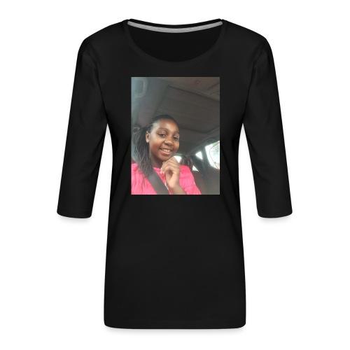 tee shirt personnalser par moi LeaFashonIndustri - T-shirt Premium manches 3/4 Femme