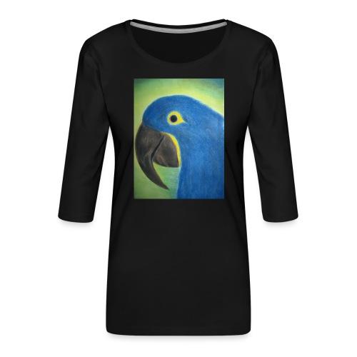 Hyasinttiara - Naisten premium 3/4-hihainen paita