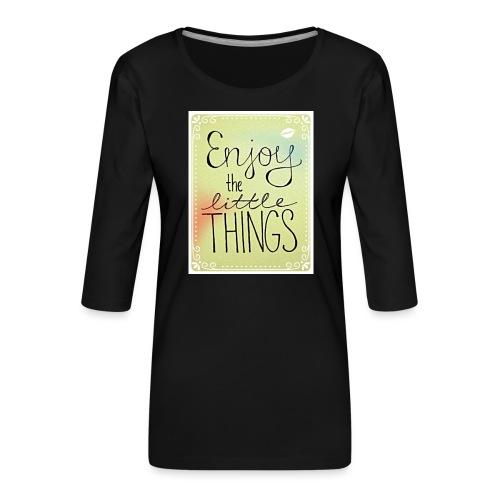 LITTLE_THINGS - Vrouwen premium shirt 3/4-mouw