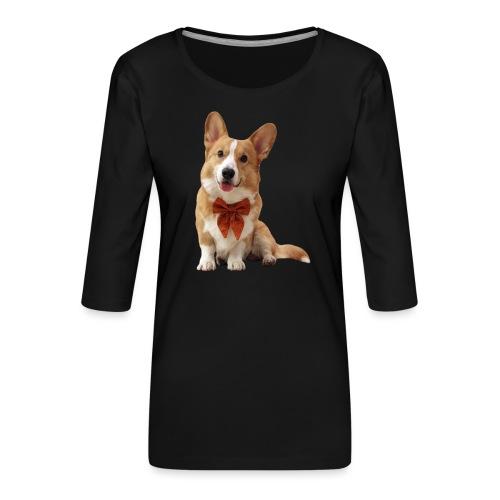 Bowtie Topi - Women's Premium 3/4-Sleeve T-Shirt