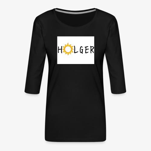 Holger Sommer edition - Dame Premium shirt med 3/4-ærmer