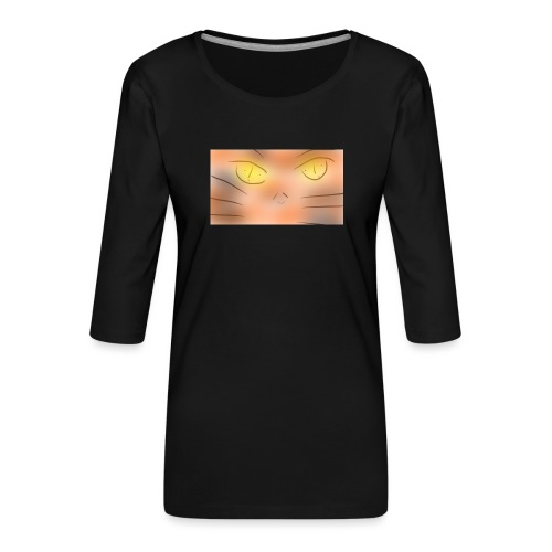 Cat un the un un night gato o animé - Camiseta premium de manga 3/4 para mujer