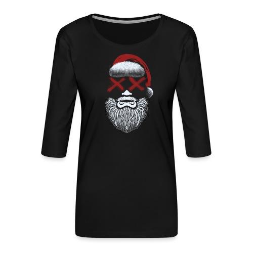 Weihnachten fällt aus - Frauen Premium 3/4-Arm Shirt