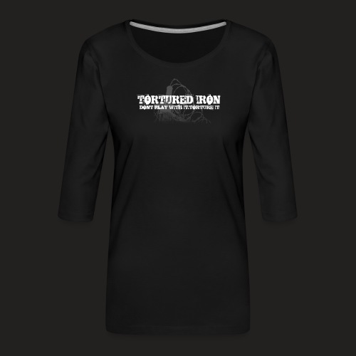 KNOW YOUR LIMITS - Women's Premium 3/4-Sleeve T-Shirt