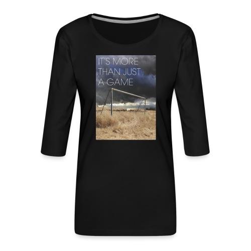more - Women's Premium 3/4-Sleeve T-Shirt