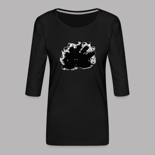 Crawley the Creeper - Women's Premium 3/4-Sleeve T-Shirt