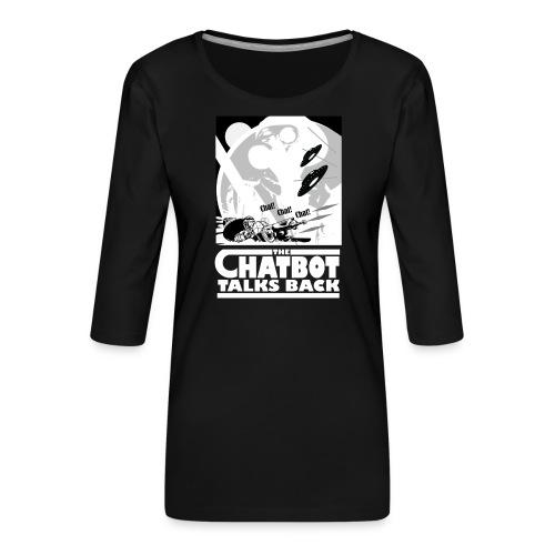 BotWars - T-shirt Premium manches 3/4 Femme