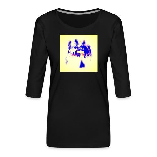 Shoppiful - Maglietta da donna premium con manica a 3/4