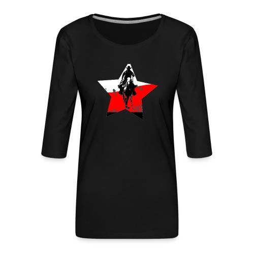 konno po polsku - Koszulka damska Premium z rękawem 3/4