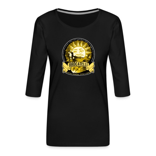 T-Shirt PESCATORE - Maglietta da donna premium con manica a 3/4