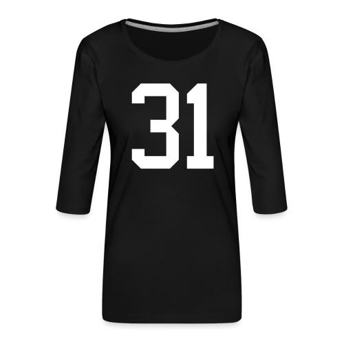 31 ZWINZ Bernhard - Frauen Premium 3/4-Arm Shirt