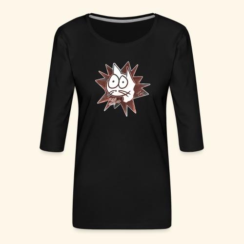 Glotzi Stern - Frauen Premium 3/4-Arm Shirt
