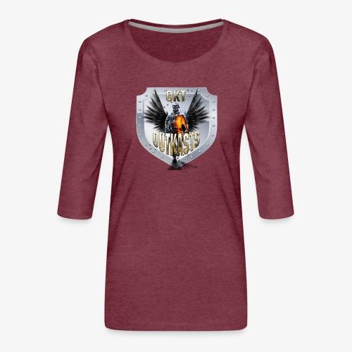 outkastsbulletavatarnew png - Women's Premium 3/4-Sleeve T-Shirt