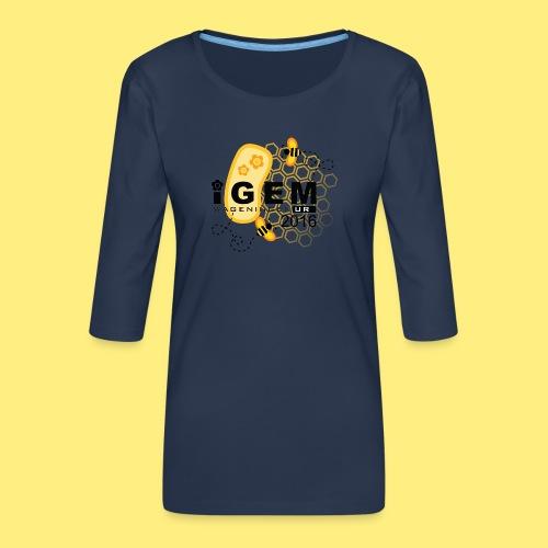 Logo - shirt women - Vrouwen premium shirt 3/4-mouw