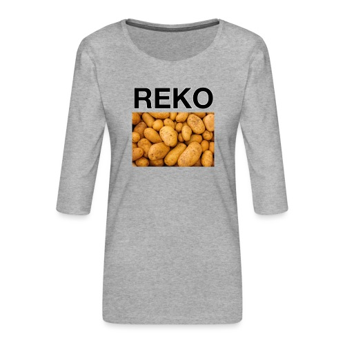 REKOpaita perunat - Naisten premium 3/4-hihainen paita