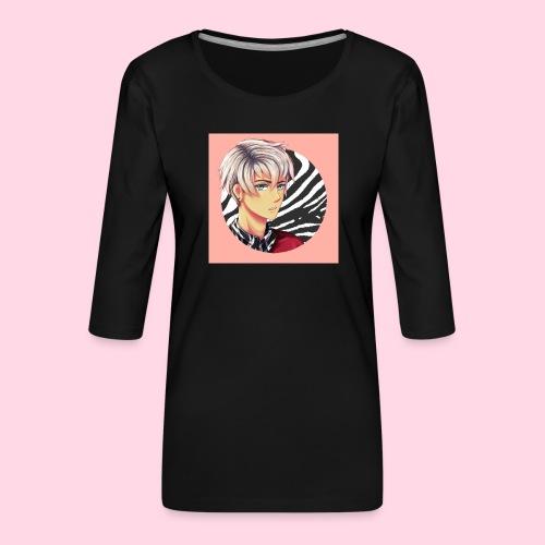 Tomas Zebra - T-shirt Premium manches 3/4 Femme