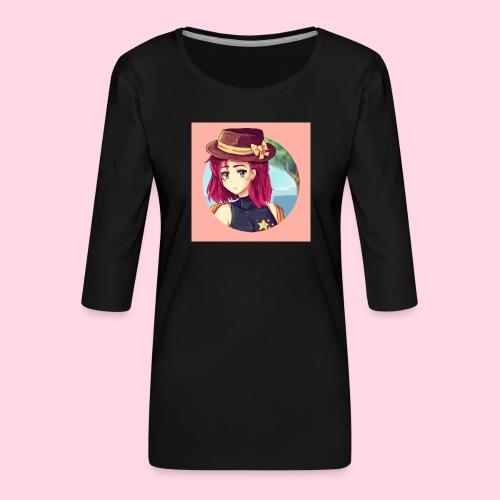 Juliette Badge - T-shirt Premium manches 3/4 Femme