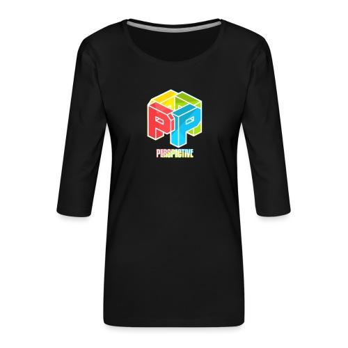 Perspective - T-shirt Premium manches 3/4 Femme