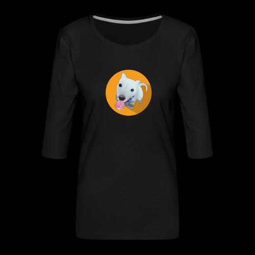 Computer figure 1024 - Women's Premium 3/4-Sleeve T-Shirt