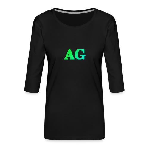 ATG Games logo - Naisten premium 3/4-hihainen paita