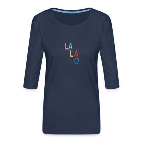 Lalao - Maglietta da donna premium con manica a 3/4