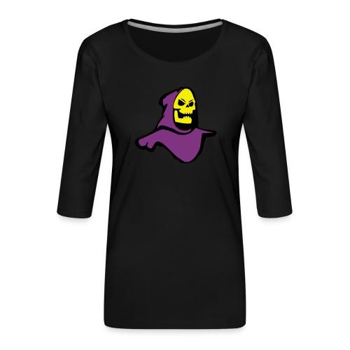 Skeletor - Women's Premium 3/4-Sleeve T-Shirt