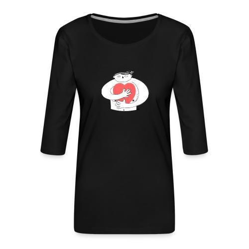 Big big love - Frauen Premium 3/4-Arm Shirt
